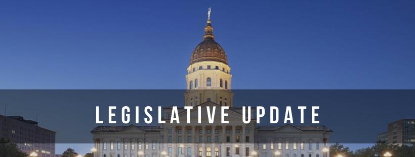 image of Kansas Statehouse for the legislative updates