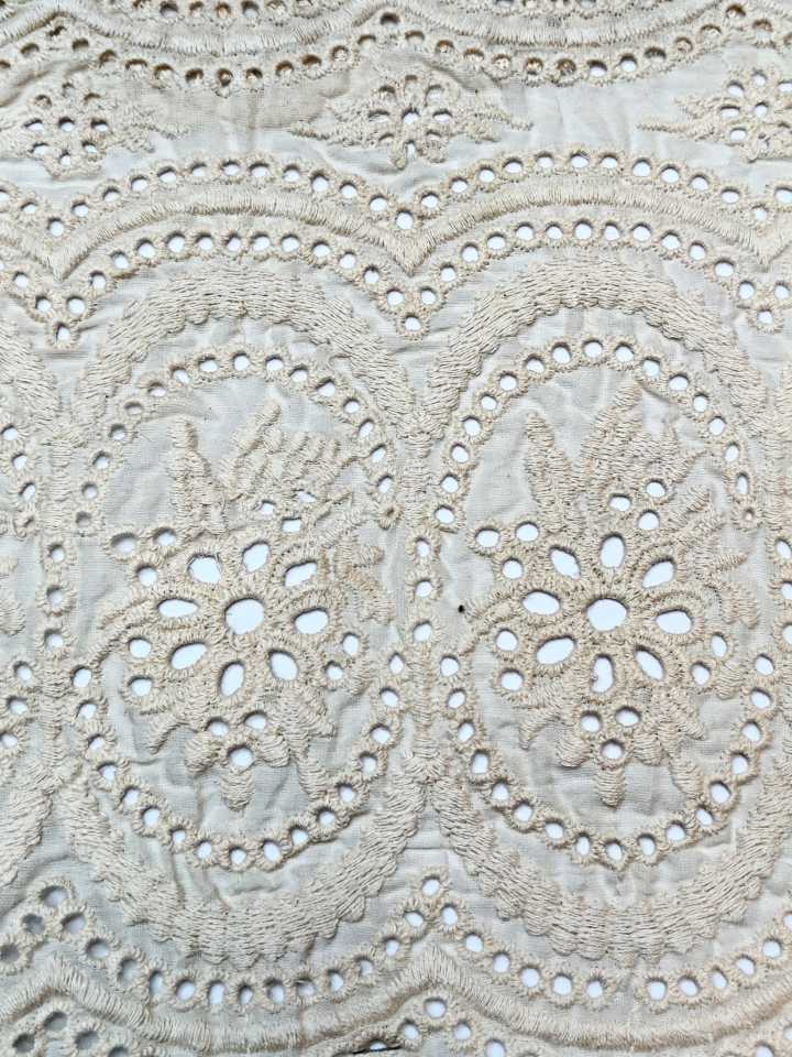 Cambric Allover Fabric, Embroidered Fabrcis
