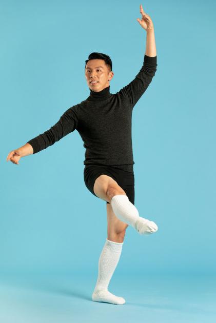 Elvin looking majestic dancing ballet