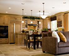 Interior decoration of a house