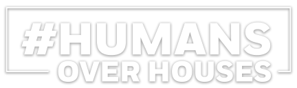 Humans Over Houses Logo