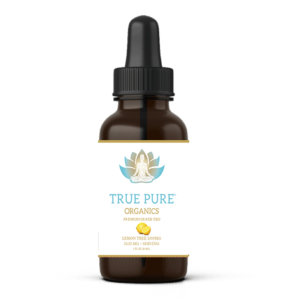 True Pure Organics CBD Oil Lemon Flavor.psd