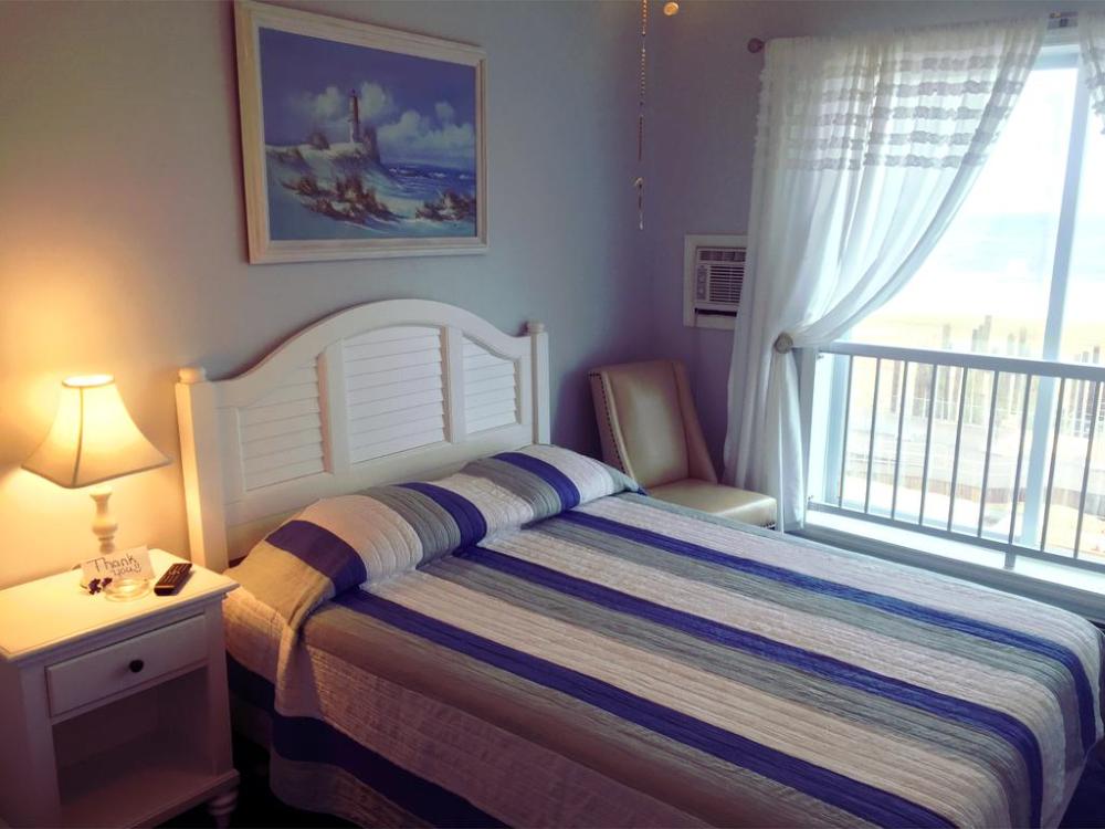 Ocean Front Hotel Room
