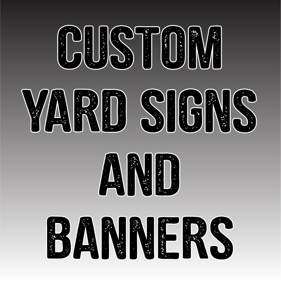 Senior Yard & Athlete Sports Signs and Banners