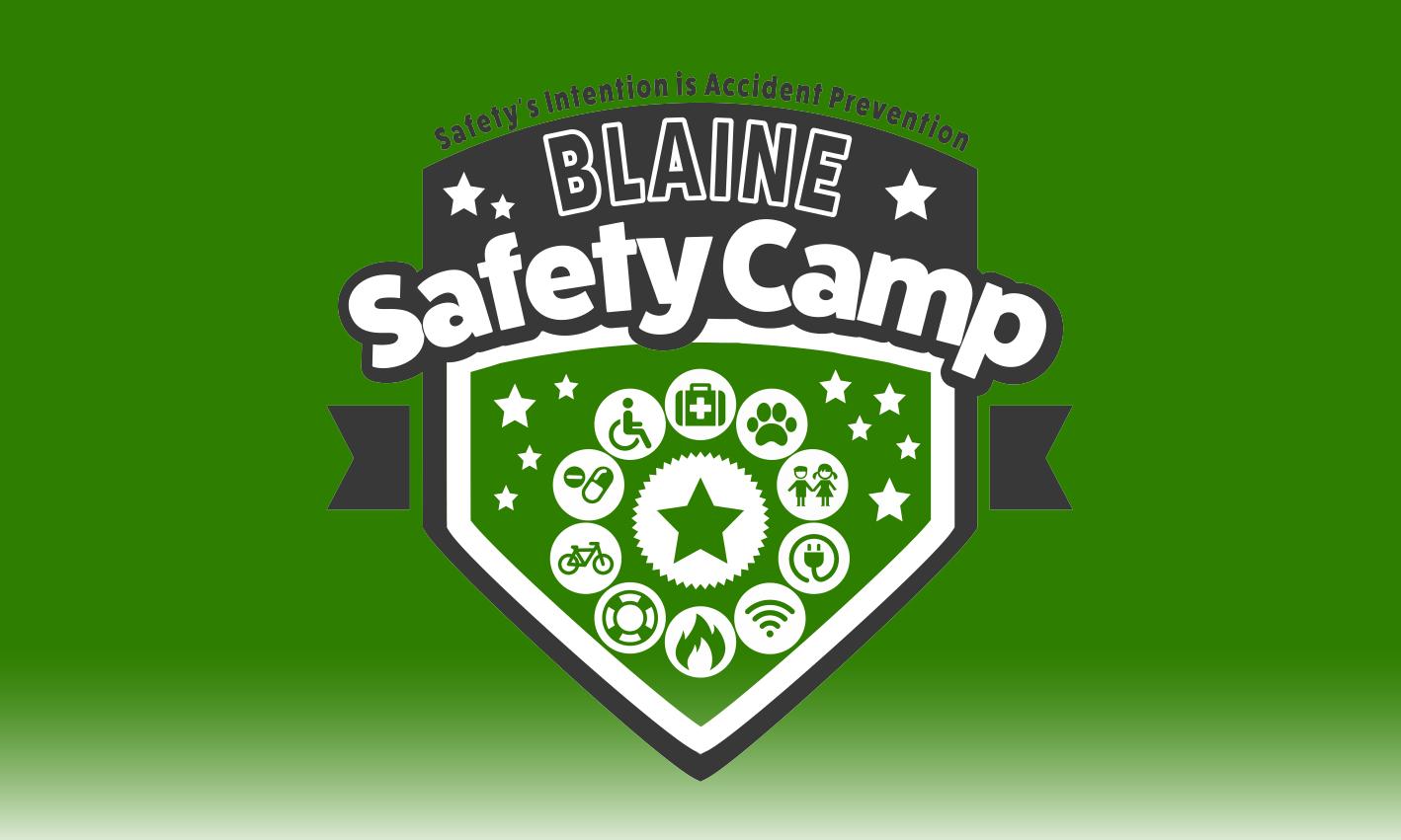 Safety Camp Green Logo Design