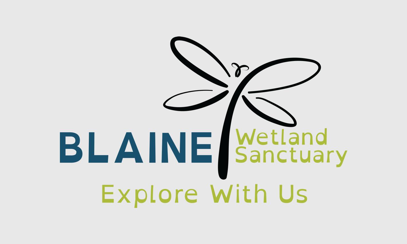 Blaine Wetland Sanctuary Logo Design