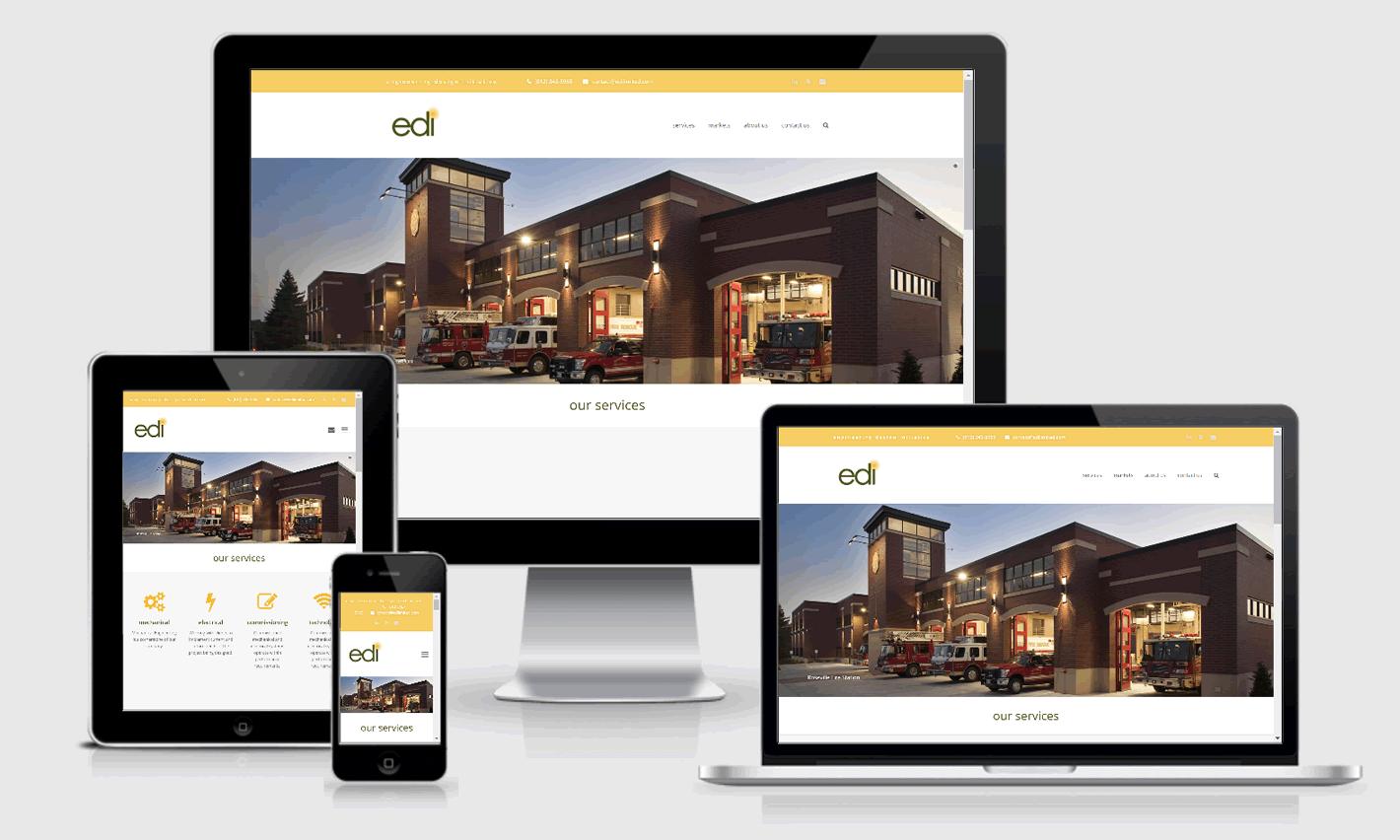 Edi Limited Responsive Website Design