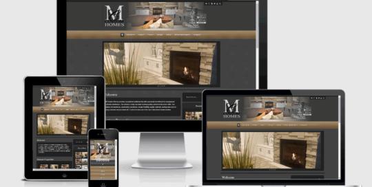 MC Custom Homes Responsive Website Design
