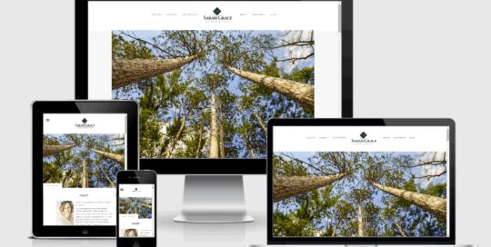 Sarah Grace Photography Responsive Website Design