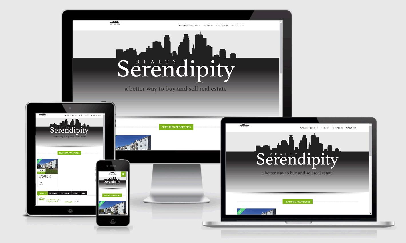 Serendipity Realty Responsive Website Design