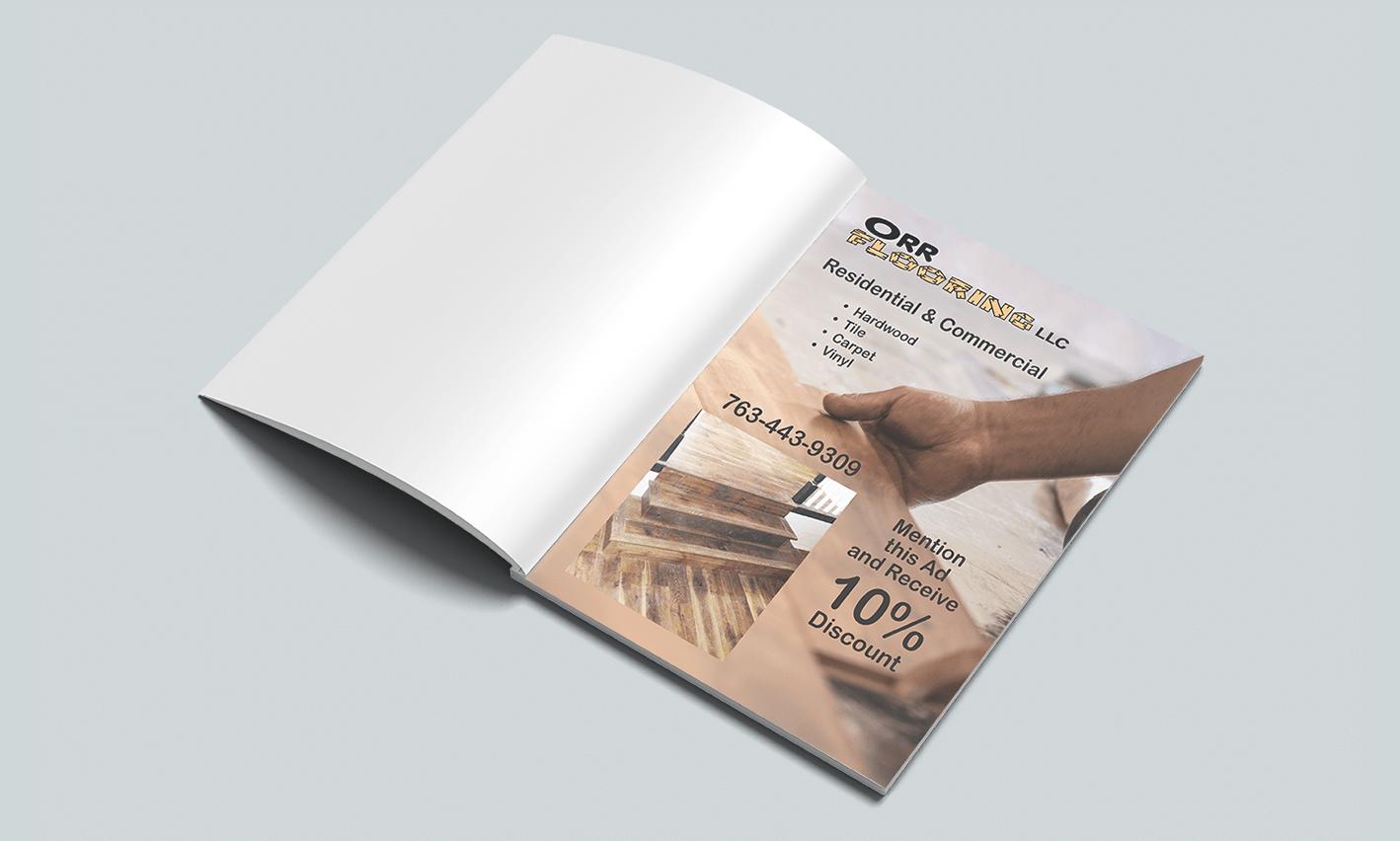 Orr Flooring Magazine Magazine Advertisement