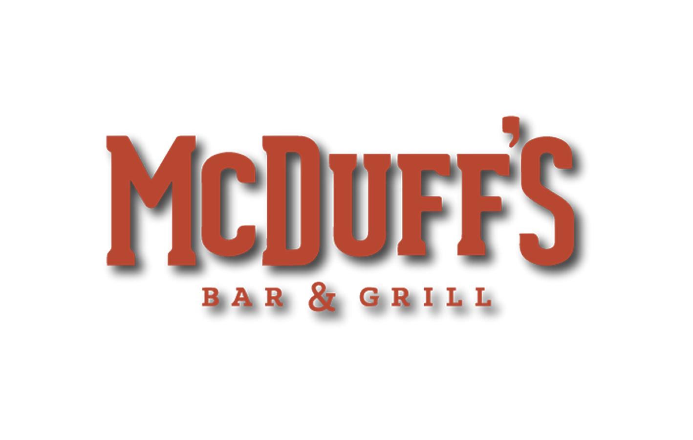 Client: McDuff's Bar & Grill