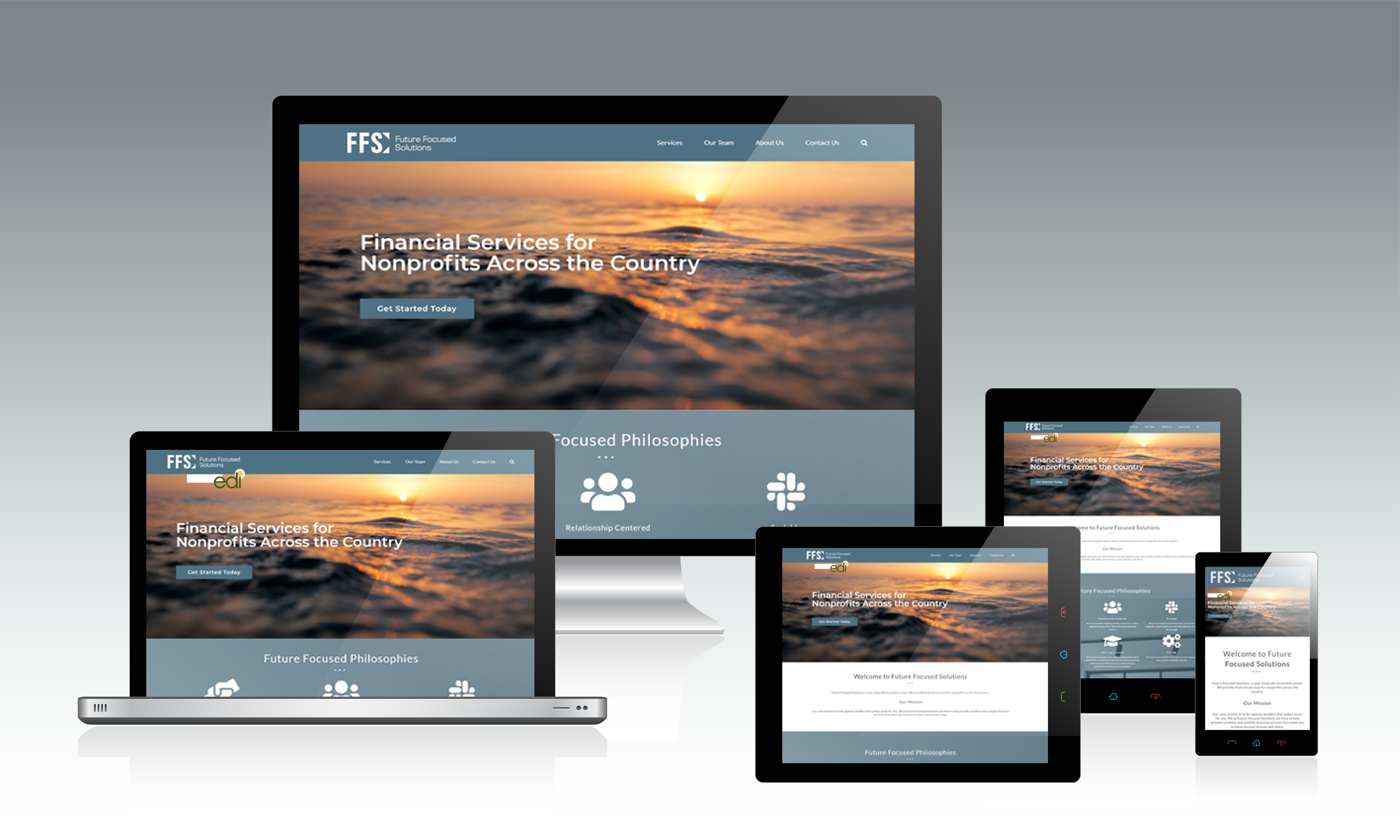 Future Focused Solutions Responsive Website Design