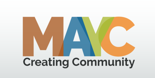 MAYC Creating Community Logo