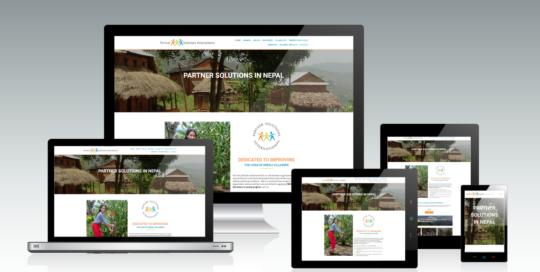 Partner Solutions Nepal Mockup