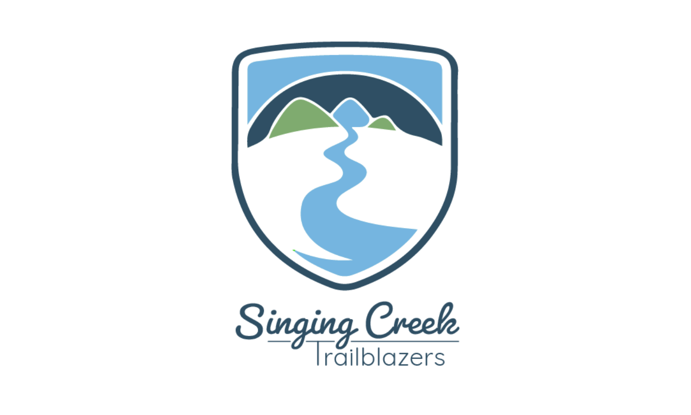 Singing Creek Trailblazers Logo Full Color