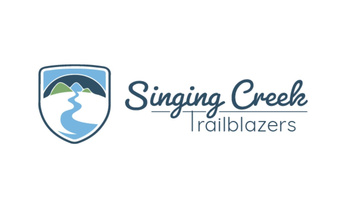 Singing Creek Trailblazers Logo Horizontal Full Color