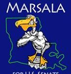 Rocky the Pelican from the Marsala for Senate 2016  Campaign