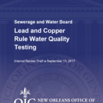 Lead in New Orleans Water