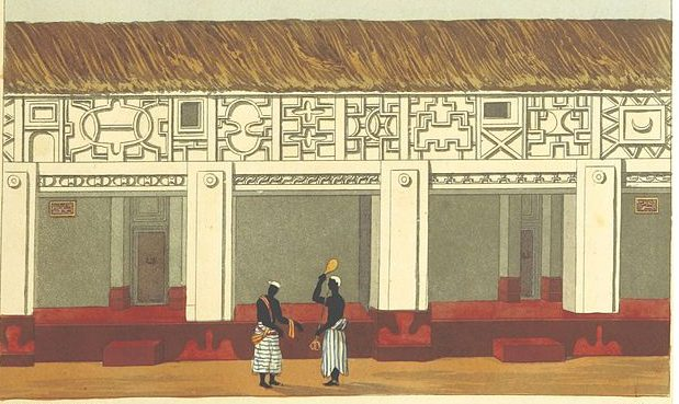 BOWDICH_1819 Ashanti palace