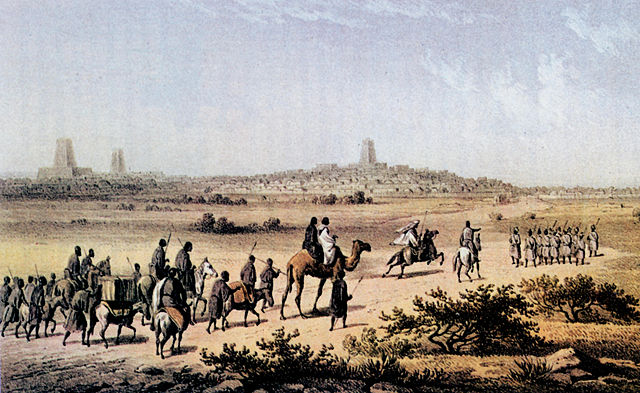 City of Timbuktu of the ancient Mali Emplire.