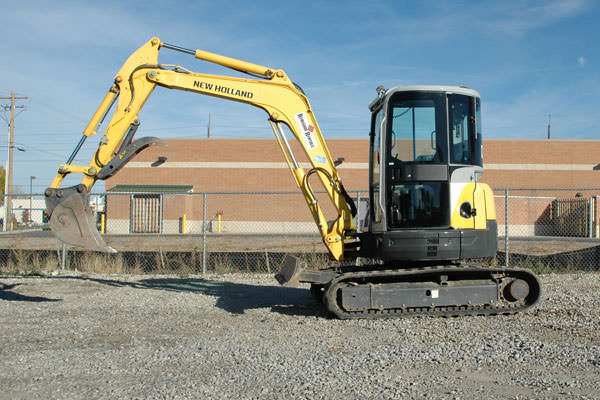 TRACKHOE MINI 50 ENCLOSED NEW HOLLAND