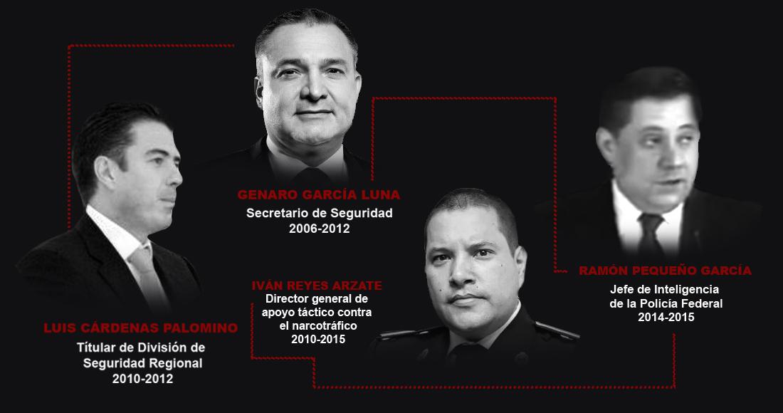 Reyes Arzate, una de las piezas clave en el caso de Genaro García Luna