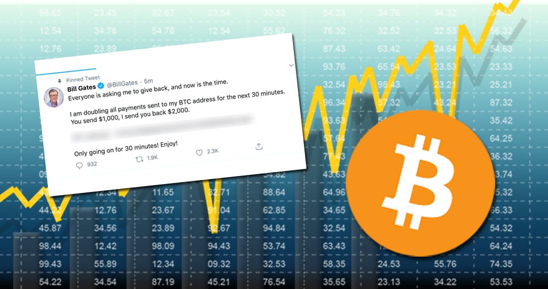 Las cuentas de Twitter de Elon Musk, Jeff Bezzos, Bill Gates y otros fueron hackeadas y utilizadas criptoestafa de Bitcoins