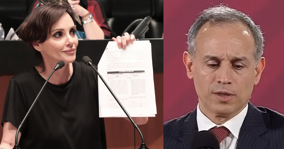 Lilly Téllez y otros panistas buscan acusar a Hugo López-Gatell por «negligencia criminal»