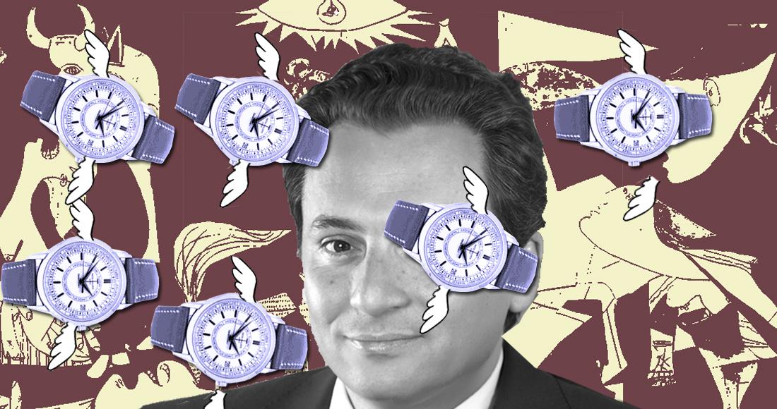 En 2013 Lozoya declaró un patrimonio millonario, relojes y obras de arte que después prefirió ocultar