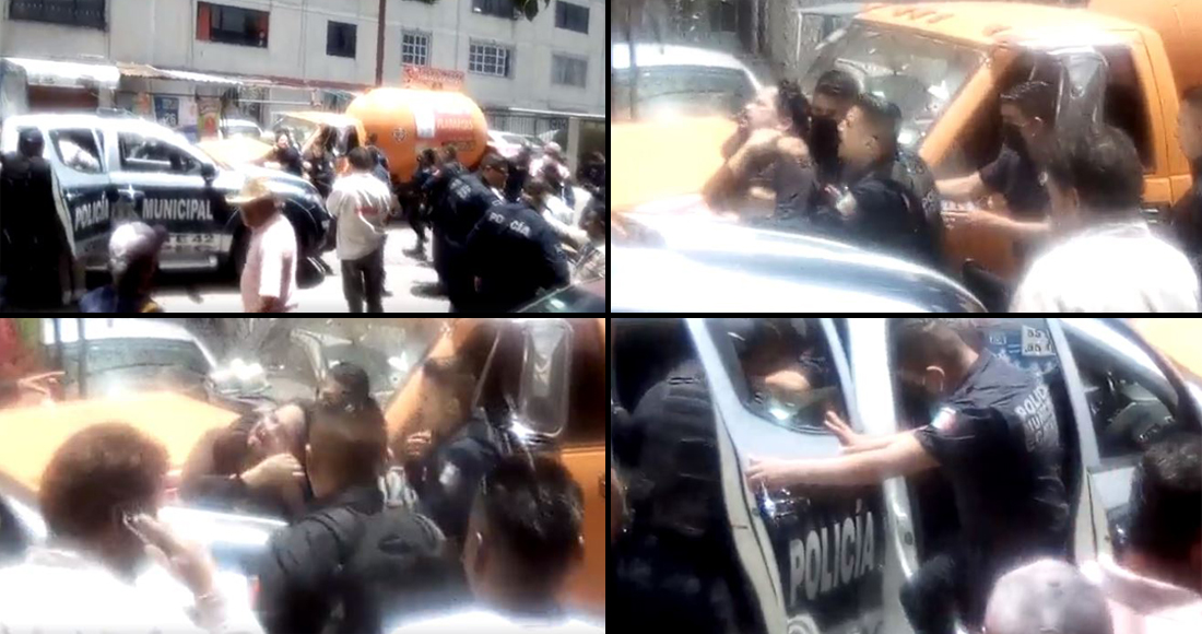 Periodista es golpeado y detenido de manera arbitraria por policías de Ecatepec