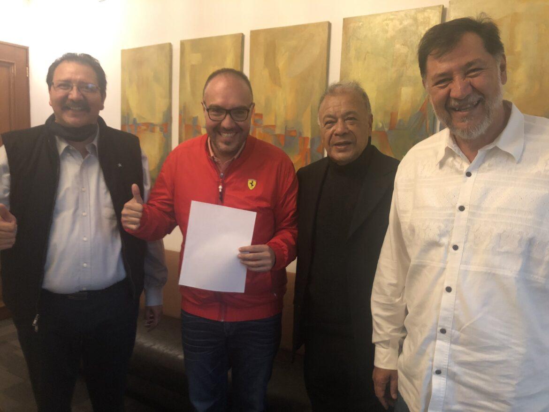 Para ser tercera fuerza en San Lázaro, PT integra a Mauricio Toledo, señalado de agredir a Morena