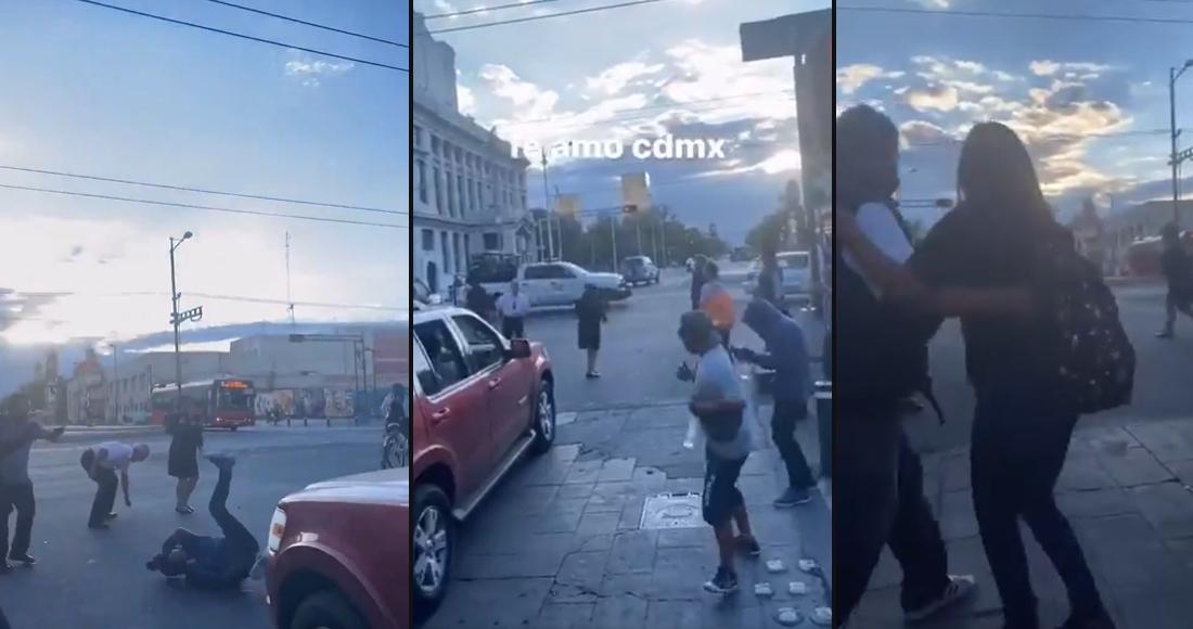 El ritmo de La Chona enciende el baile en un crucero de la CDMX; y así ha sucedido en otras ciudades