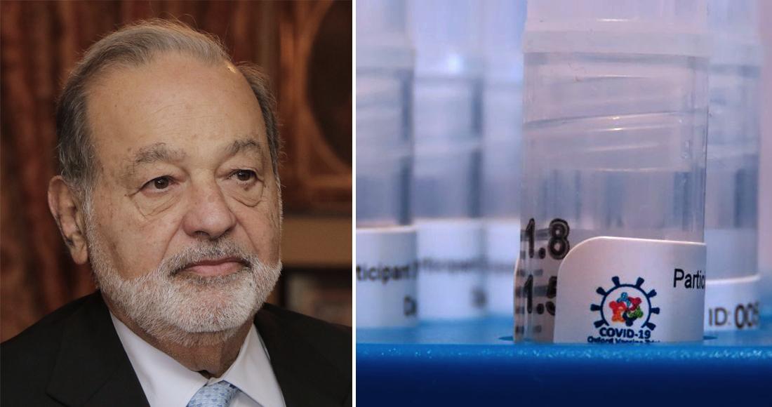 La Fundación Carlos Slim firma acuerdo con AstraZeneca para distribuir la vacuna contra el COVID-19