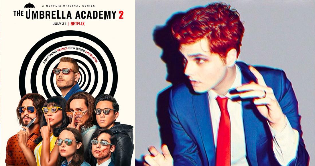 Gerard Way cautivó a los emos y ahora conquista a la audiencia centennial de Netflix con Umbrella Academy