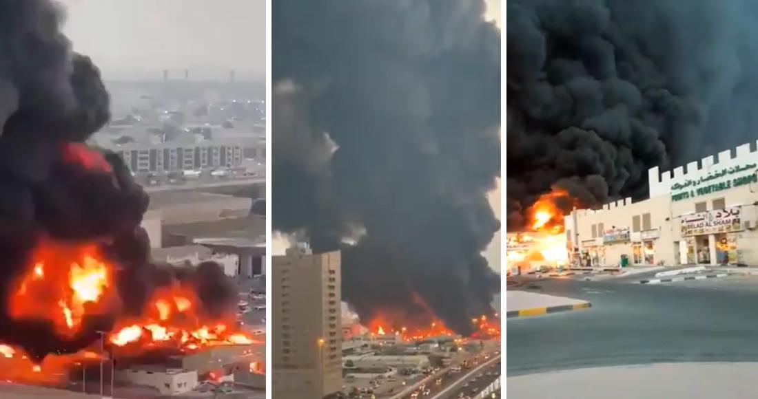 Un incendio en Emiratos Árabes causa la evacuación de un hospital en plena contingencia por el COVID-19