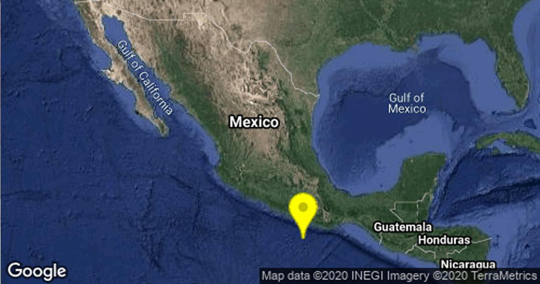 Se registra sismo en Oaxaca con 5 grados de magnitud; no se reportan daños