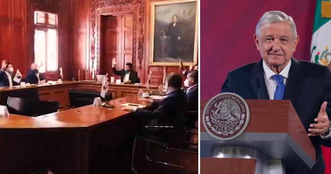 10 gobernadores se separan de la Conago; «Están en su derecho»: afirma AMLO