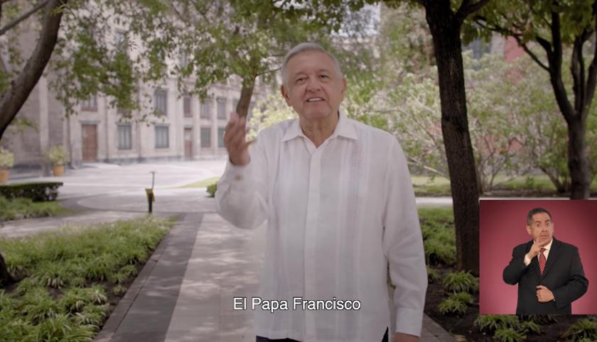 INE ordena retirar spot del Segundo Informe por citar al Papa Francisco y atentar contra el Estado Laico
