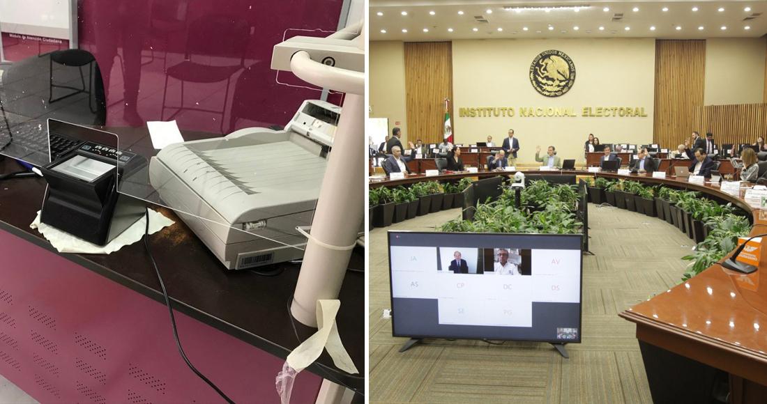 Cuatro funcionarios del INE denunciados por irregularidades en una licitación, continúan en funciones