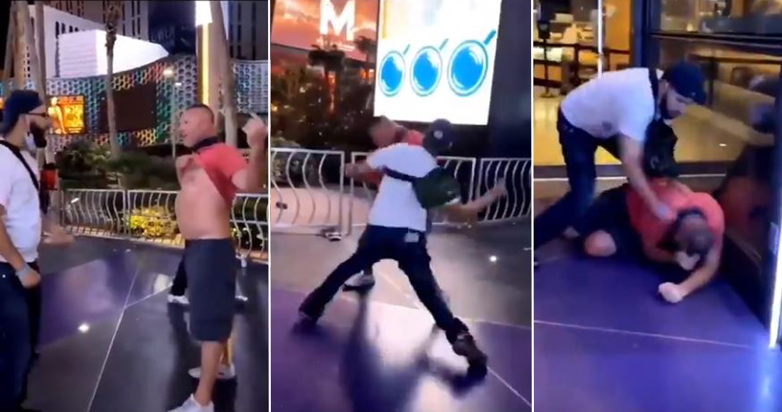 Un grupo de racistas estadounidenses reciben golpiza tras llamar «sucios mexicanos» a dos jóvenes