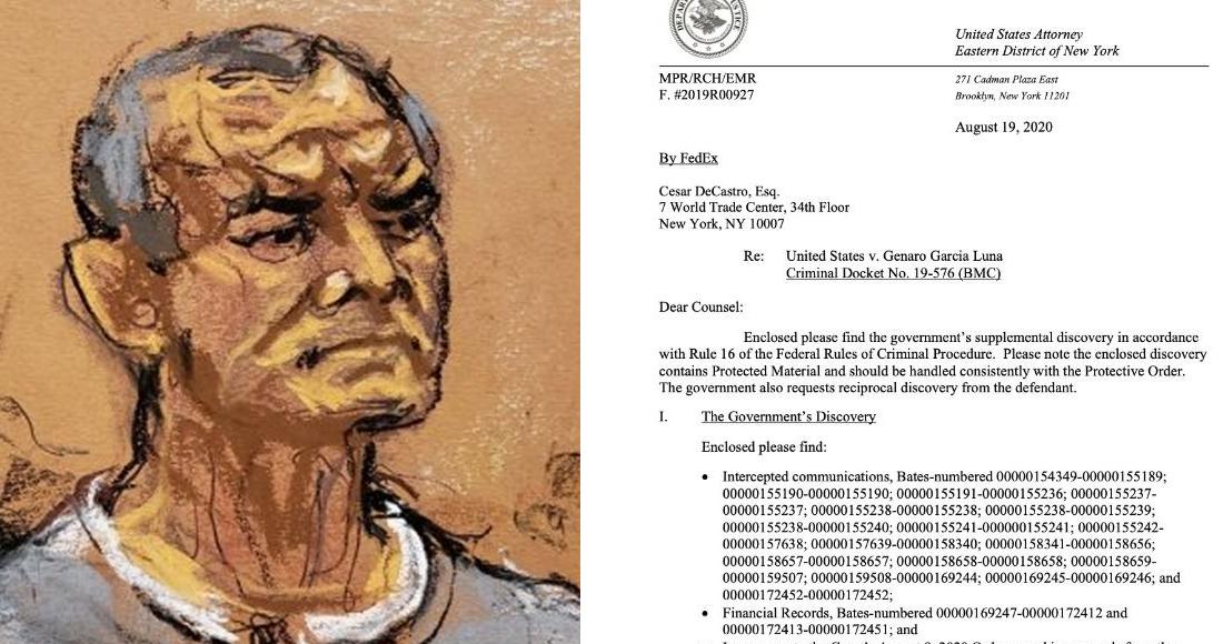 El Departamento de Justicia EU grabó conversaciones telefónicas de García Luna y las presentarán como pruebas