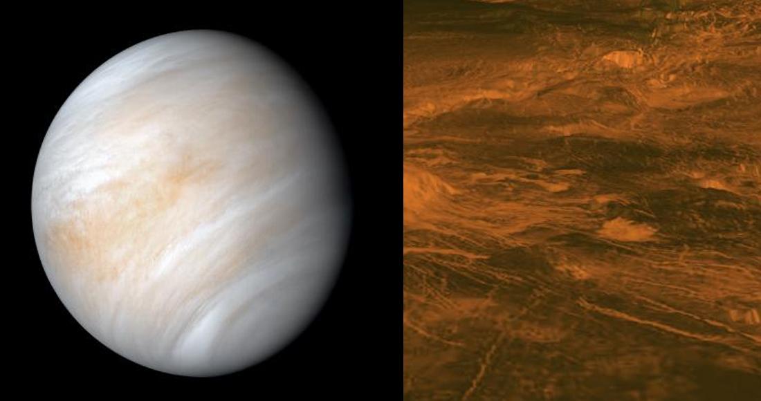 Científicos del Reino Unido descubren presencia de gas asociado asociado a la existencia de vida en Venus
