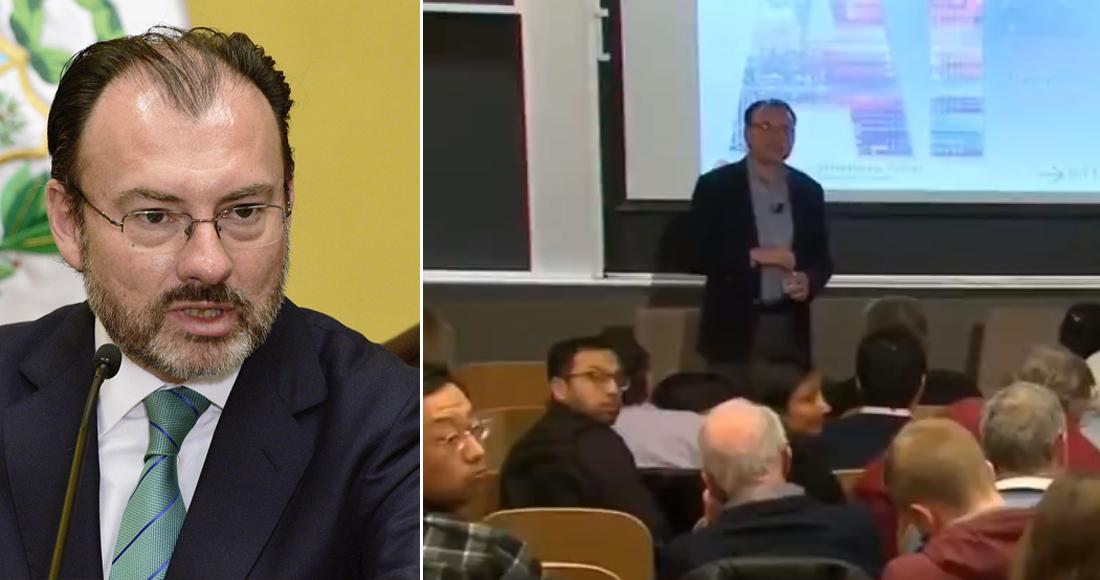 Por escándalos de corrupción, Videgaray debe ser expulsado del MIT, exigen egresados mexicanos