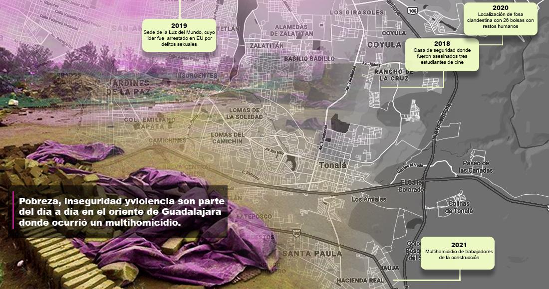 La masacre de Tonalá ocurrió en un contexto de abandono que es responsabilidad de gobiernos locales