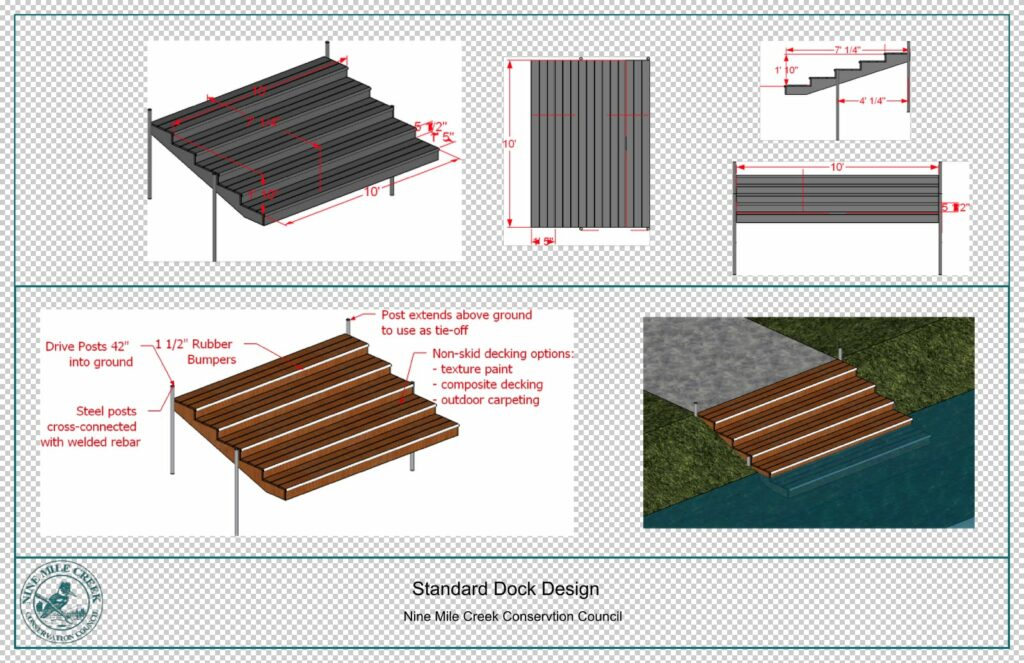Standard River Dock