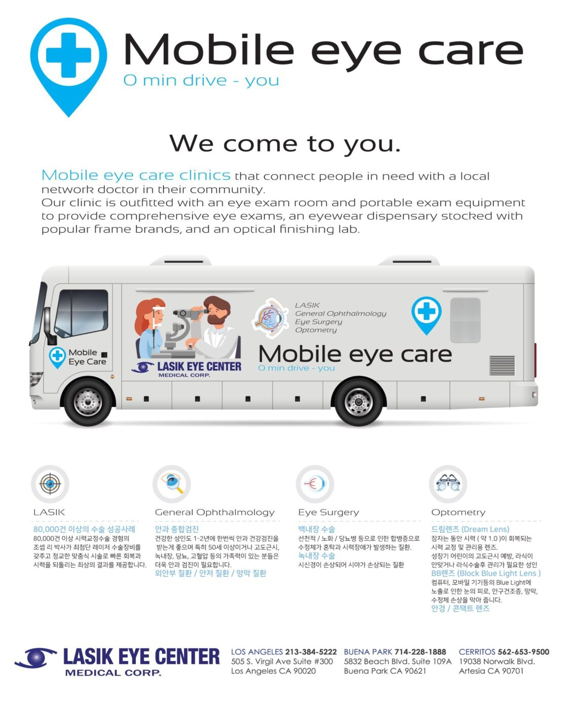 mobile eyecare clinic