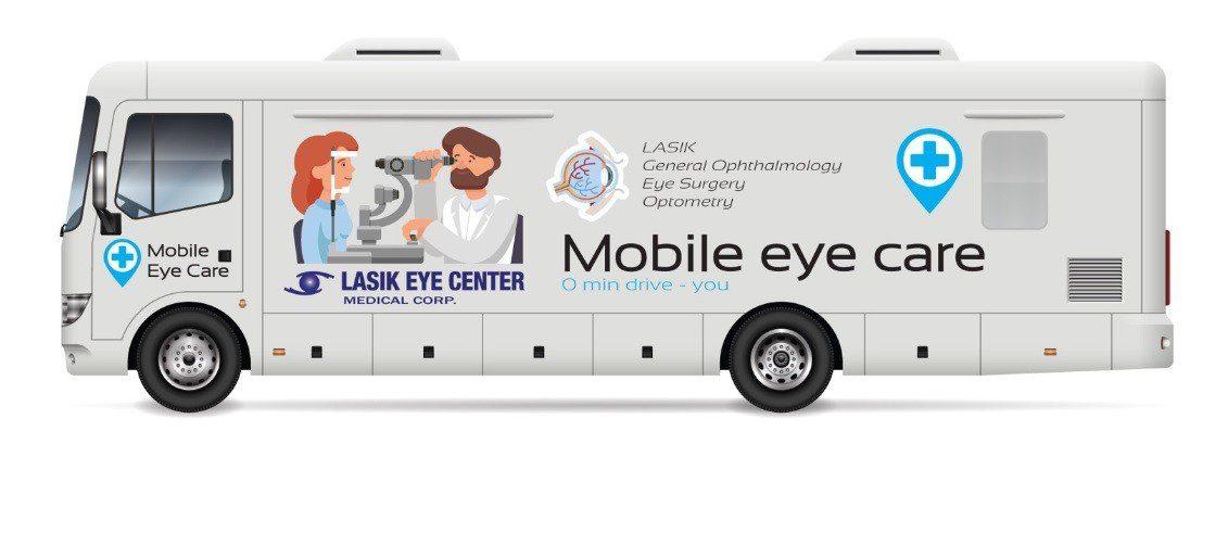 mobile eye care van