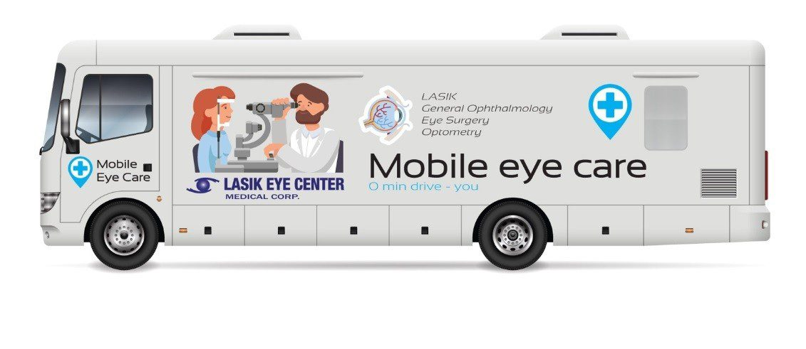 mobile eye care van