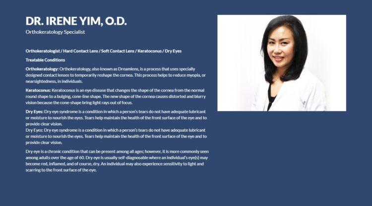 Dr. Irene Yim